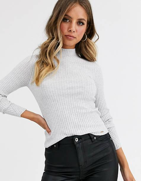 Superdry Annie skinny rib sweater