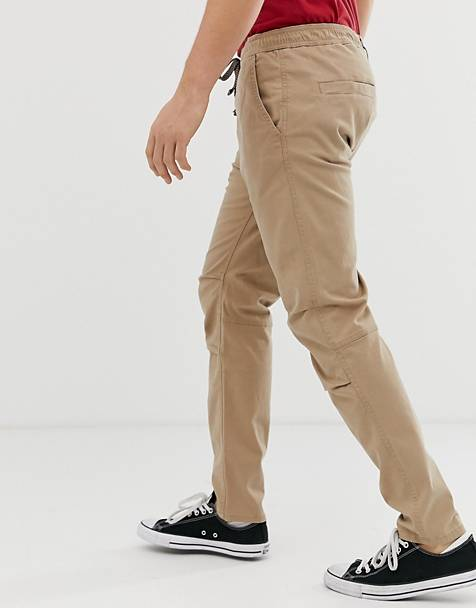 Superdry core utility pants in beige