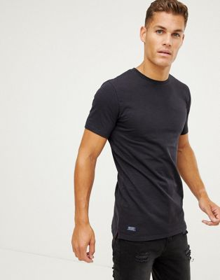 Image 1 of Superdry Dry Originals longline t-shirt in navy