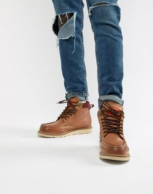 Superdry mountain range boots in tan