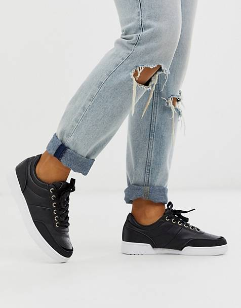 Superdry premium court sneakers
