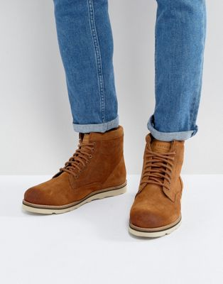 Superdry Stirling Suede Lace Up Boots In Tan