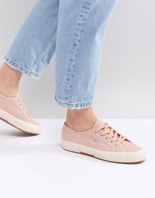 Superga - 2750 - Sneakers di tela rosa