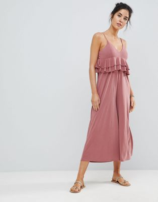 Image 1 of Surf Gypsy Frill Beach Jumpsuit