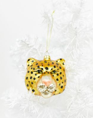 SVNX leopard Christmas bauble