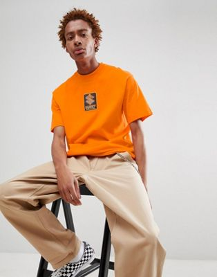SWEET SKTBS 90's Loose Fit T-Shirt With Logo In Orange