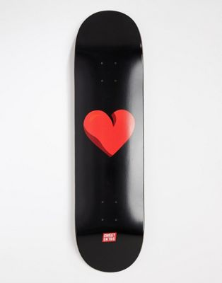 SWEET SKTBS heart skateboard deck - 8.375inch