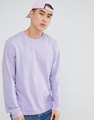 Sweet SKTBS Long Sleeve T-Shirt In Purple