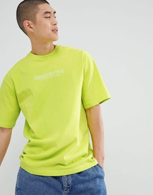 Sweet SKTBS T-Shirt In Lime Green