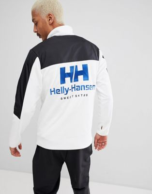 SWEET SKTBS x Helly Hansen 1/4 Zip Jacket With Back Logo In Black