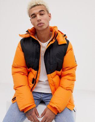 SWEET SKTBS X Helly Hansen - Piumino arancione due in uno