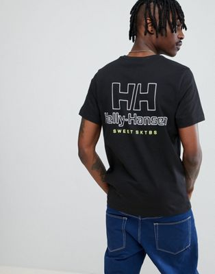 Sweet SKTBS x Helly Hansen T-Shirt With Back Logo In Black