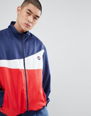 SWEET SKTBS x Pepsi Tennis Jacket In Navy
