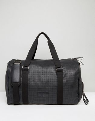 Systvm Holdall In Black PU