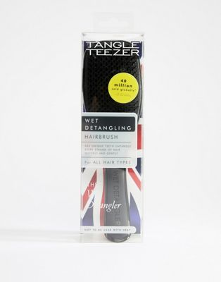 Tangle Teezer Wet Detangler Hairbrush in Black