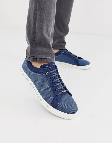 Ted Baker ashwyns sneakers in navy