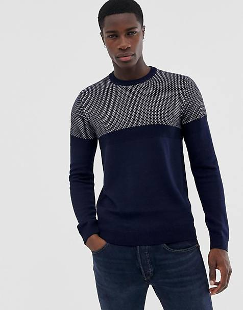 Ted Baker contrast knitted sweater
