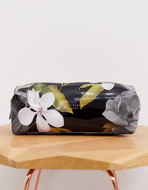 Ted Baker Mirani opal print large pencil case