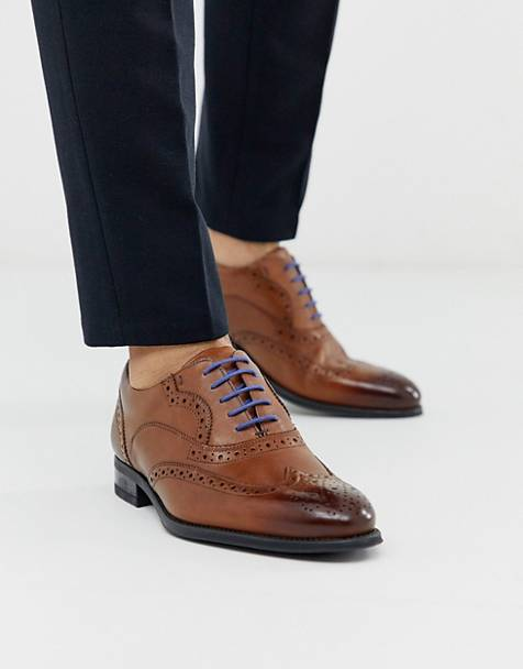 Ted Baker mitack brogues in tan leather
