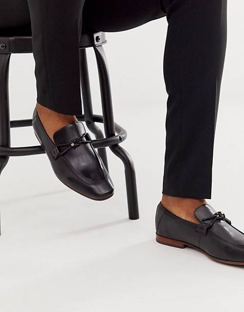 Ted Baker siblal loafers in black