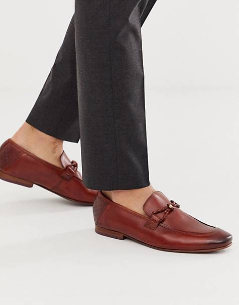 Ted Baker siblal loafers in tan