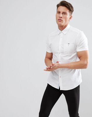 Ted Baker Slim Short Sleeve Shirt