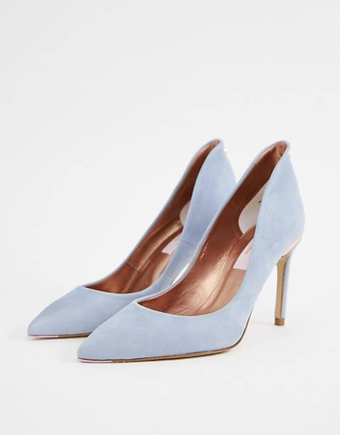 Ted Baker suede heeled shoes