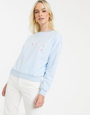 Ted Baker - Sweatshirt met 'love' tekstprint