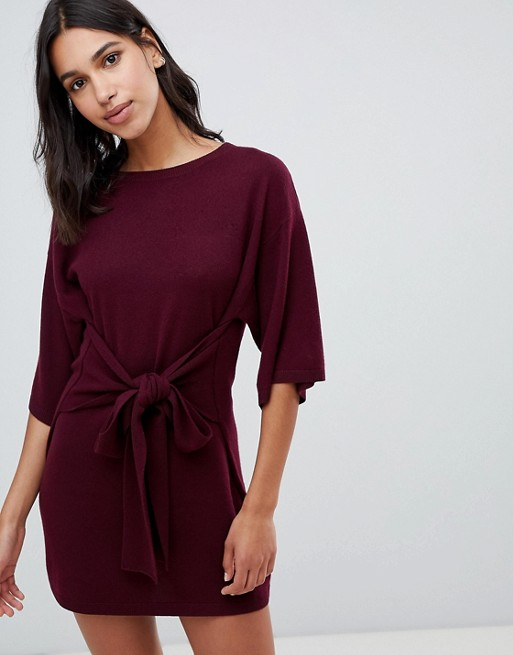169b7707596a0 Ted Baker Ted Says Relax Tie Front Knitted Tunic