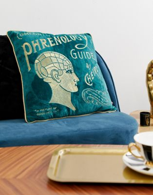 Temerity Jones - Phrenology - Coussin