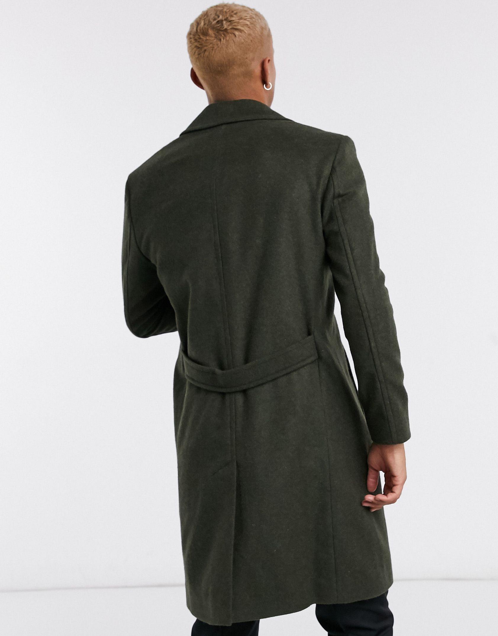 Religion military coat in dark green -  Price Checker