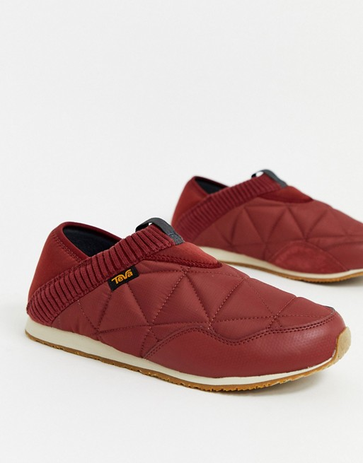 TEVA - Ember - Chaussures façon chaussons - Rouge