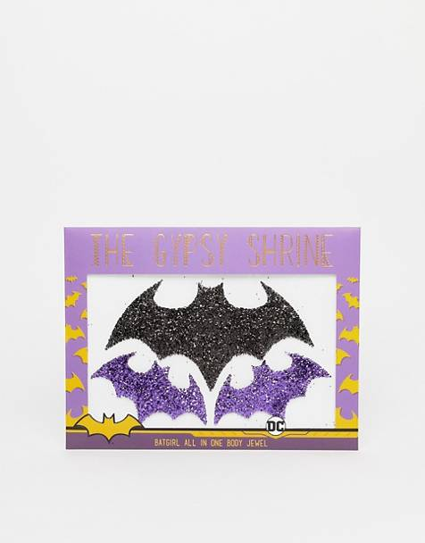 The Gypsy Shrine x Warner Brothers – Halloween Batgirl All in One – Körperschmuck