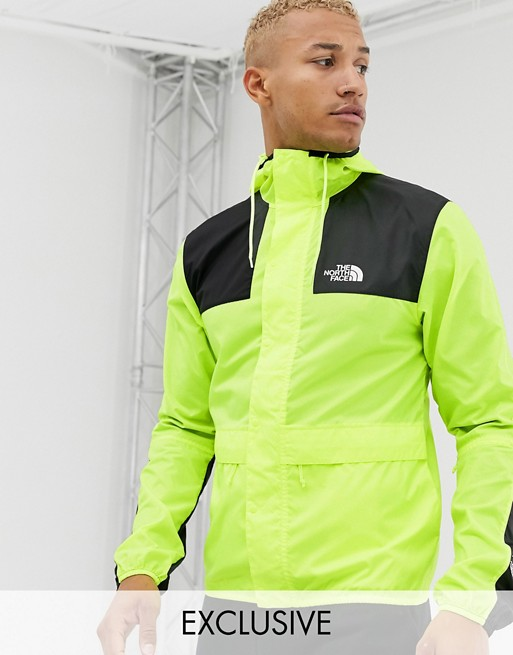 The North Face - 1985 - Veste de montagne exclusivité ASOS - Jaune fluo