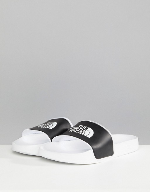 7fe273513 The North Face Base Camp Sliders II in White/Black