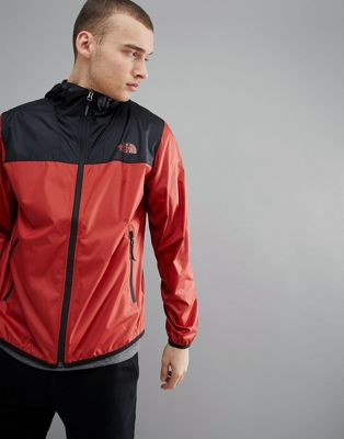 The North Face - Cyclone - Veste 2 couleurs à capuche - Rouge