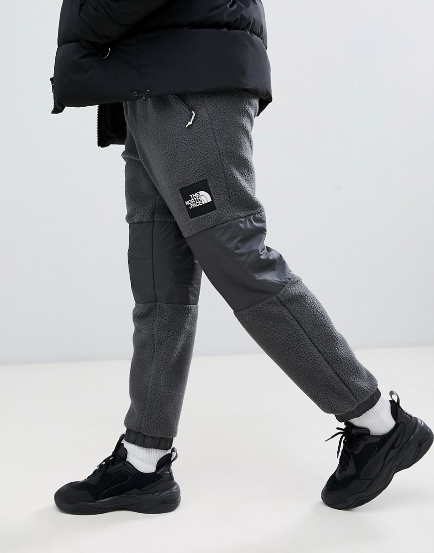 The North Face Denali Fleece Pant In Gray by The North Face