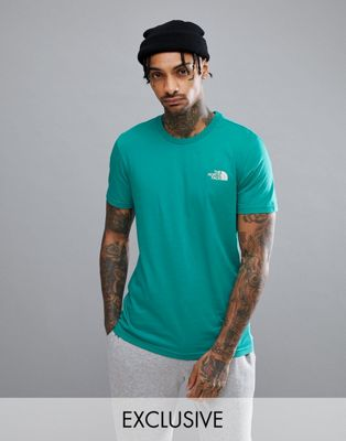 The North Face - Exclusivité ASOS - Simple Dome - T-shirt - Vert vif