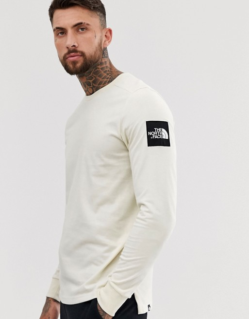 Image 1 of The North Face Fine 2 long sleeve in white