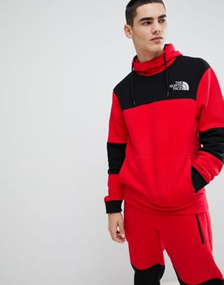 Image 1 of The North Face Himalayan Hoodie in Red