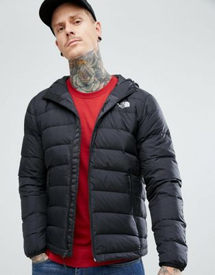The North Face La Paz Down Hooded Jacket in Black