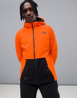The North Face – Lodgefather Ventrix – Jacke in Orange
