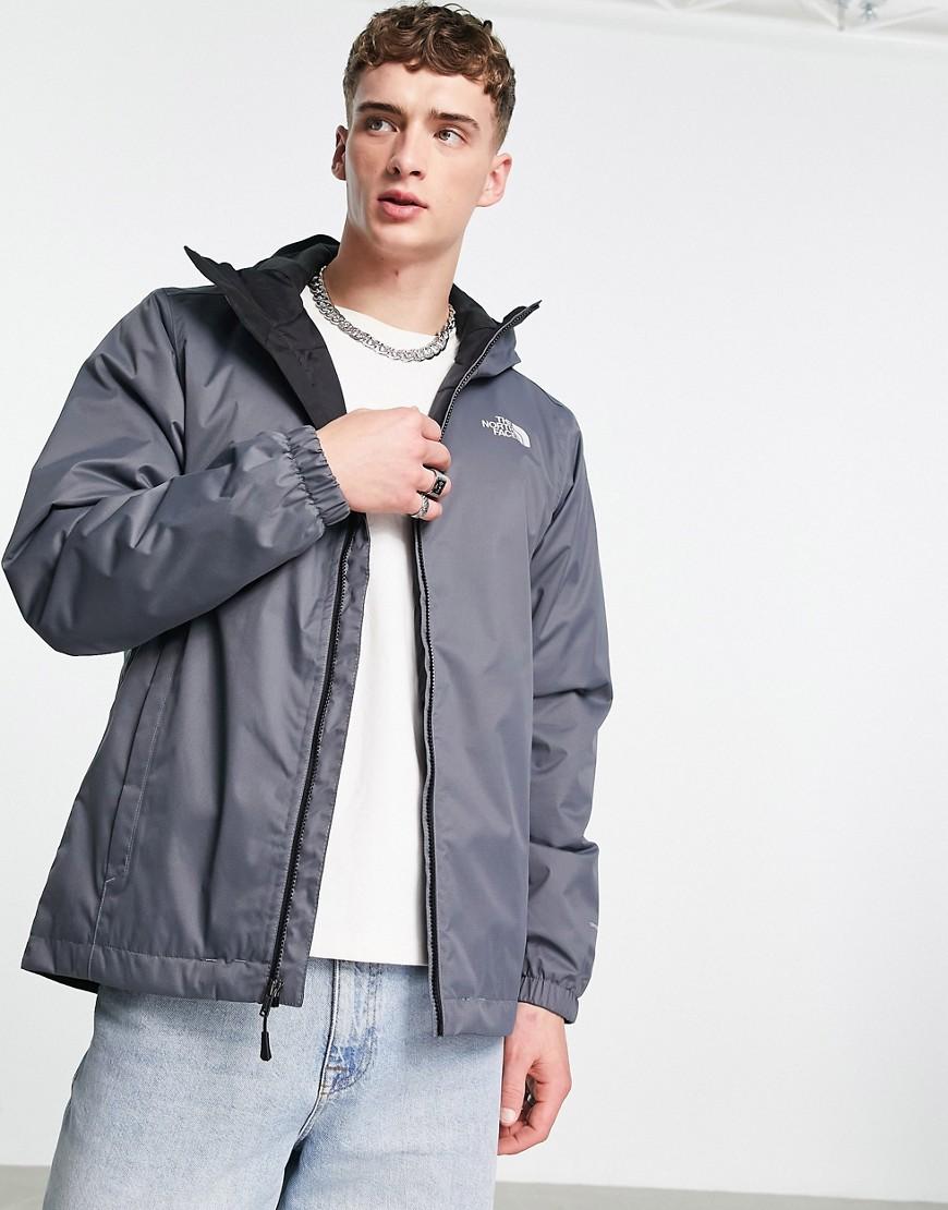 The North Face - Quest - grå isoleret jakke-Sort