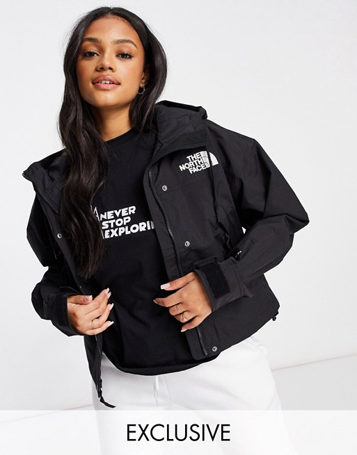 The North Face – Reign On – Czarna kurtka, tylko w ASOS