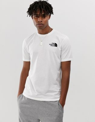 The North Face Simple Dome t-shirt in white Exclusive at ASOS