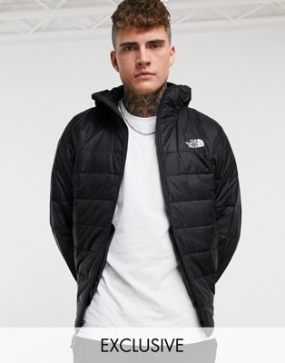 The North Face Synthetic jacket in black Exclusive at ASOS - ASOS Price Checker