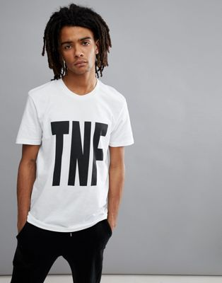 The North Face TNF Print T-Shirt In White