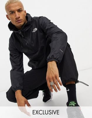 The North Face Wind anorak jacket in white Exclusive at ASOS - ASOS Price Checker