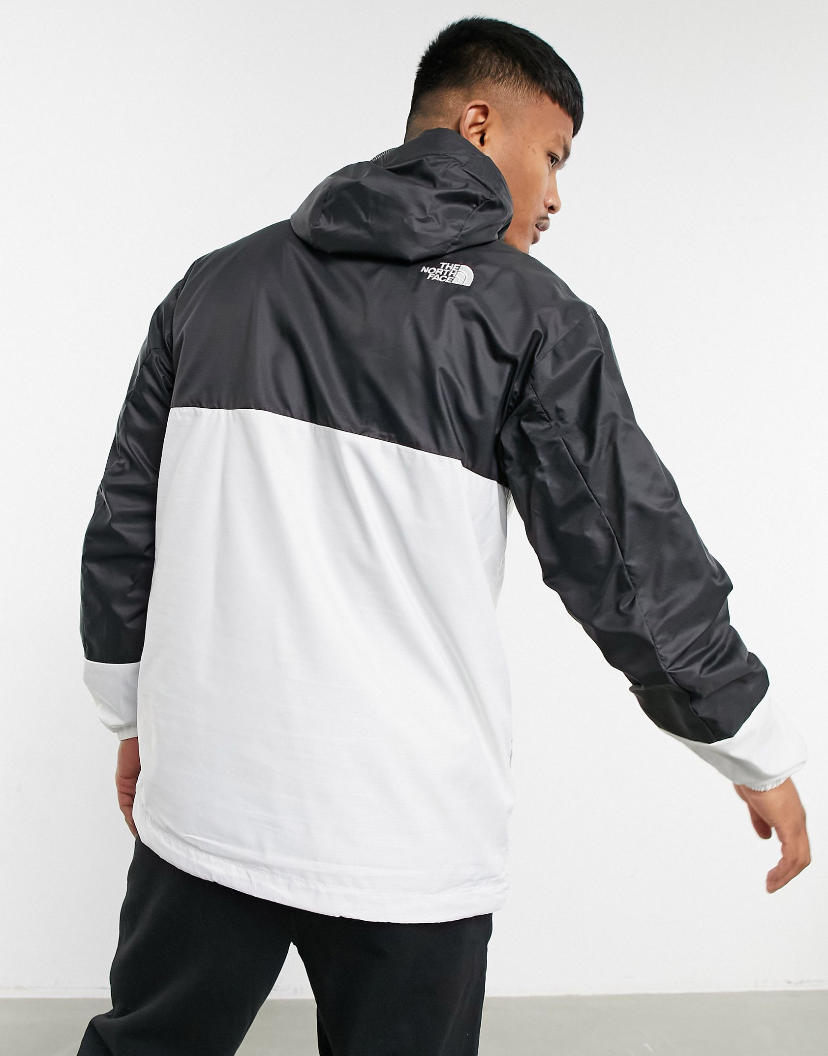 The North Face Wind anorak jacket in white Exclusive at ASOS -  Price Checker
