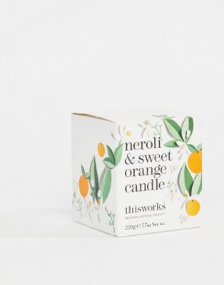 Image 1 of This Works Neroli & Sweet Orange Candle 220g